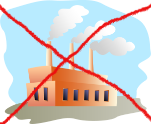 No factories!
