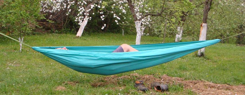 Turquoise XL Compact Hammock